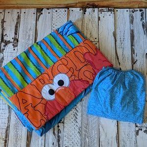 Sesame Street Toddler Bed Set
